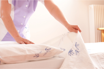 changing linen